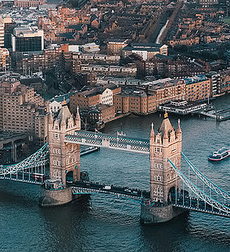 #places Tower Bridge über den Fluss Themse in London